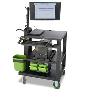 Newcastle Heavy Duty PC Series Mobile Powered Workstation