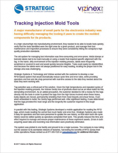 Injection Mold Tracking