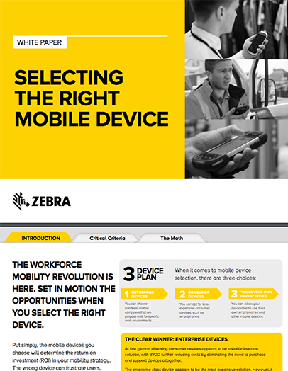 Mobile Device Selection
